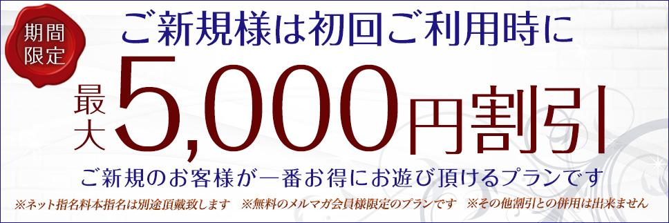 【ご新規様初回限定料金】