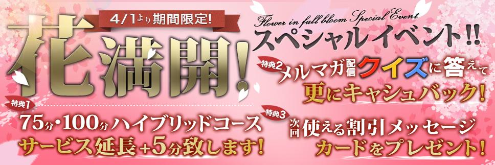 新イベント【花満開】☆彡
