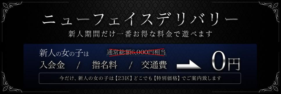 【新人期間限定】ニューフェイスデリバリー