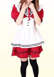 セーラーメイド(赤)