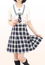 鶴○高等学校 夏服