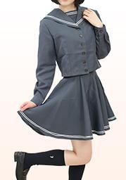 秩○農工科高校旧冬制服