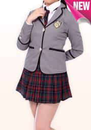 イギリス風 高校生服