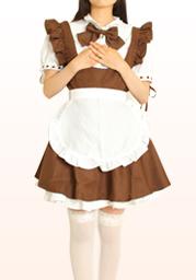 メイド服(茶)